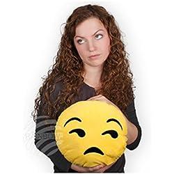 Peluche Emoticon Emoji Cuscino 25 cm Arrabbiato whatsapp Originale