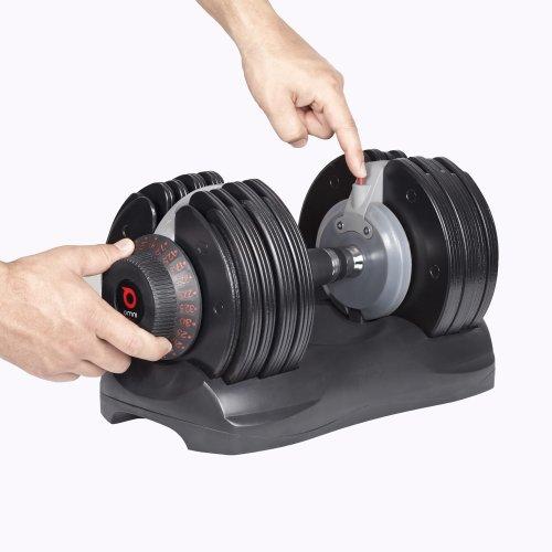 Kurzhanteln mit einstellbarem Gewicht im Test (5 bis 32,5 kg) - 7