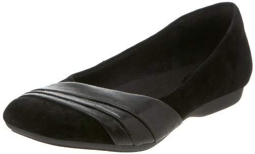Clarks Chateau Staats Wohnung Black Suede