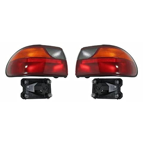 Chevy Malibu Replacement Tail Light Assembly - Driver Side by
