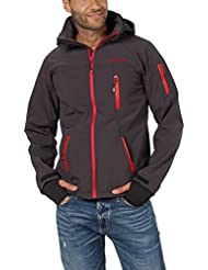 Softshell-Jacke Outdoor-Jacken Herren von Fifty Five - Alert - FIVE-TEX Membrane für Outdoor-Bekleidung