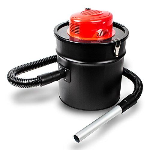 grafner Barbacoa y chimenea Aspiradora 1200W 20litros de capacidad, Rojo, Filtro Hepa Feil
