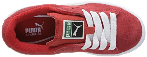 Puma 355110/38, Unisex-Kinder Hohe Sneakers Rot (Rouge (High Risk Red/White))