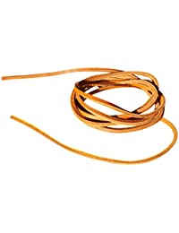 Quality Leather Square Cut Shoe Laces 3.5mm wide, in 80cm, 120cm and 140cm lengths. For Mens Leather Oxford Brogues Shoes, Deck Shoes, Timberland Boots