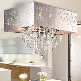 cristal de lampe de plafond de chambre coucher de la lampe salle de lampes modernes. Black Bedroom Furniture Sets. Home Design Ideas