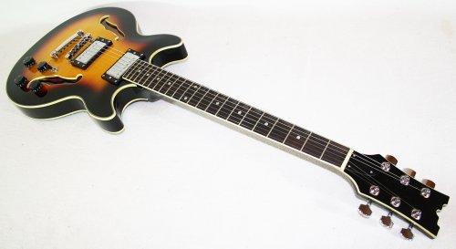 Cherrystone 4260180881172 Semi Acoustic Jazz/Blues E-Gitarre SB