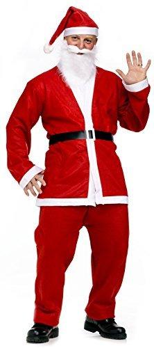 smann Kostüm Nikolauskostüm Nikolaus S451 (Weihnachtsmann Kostüm)