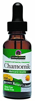 Chamomile Flowers, Alcohol-Free, 1 fl oz (30 ml) from Nature's Answer