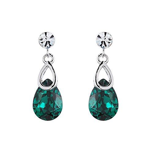 Swarovski Elements Smeraldo ''Alcee'' Orecchini