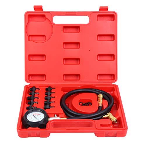 Yunge Öldruckprüfer Öldrucktester Set Öldruckmesser Öl-Meßgerät Werkzeug