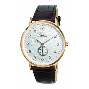 Sandoz 81271-60 – Reloj de Caballero de Cuarzo, Correa de Piel Color
