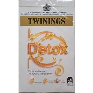 Twinings Detox 20 Enveloped Sachets de thé