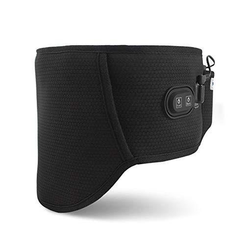 ZFF Soporte Lumbar Cinturón Calentamiento Fibra Carbono para Hombre Mujer Gimnasio En Casa Muscular Corrector Espalda