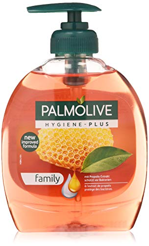 Palmolive Flüssigseife Hygiene-Plus Family, 1er Pack (1 x 300 ml) -