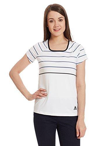 Adidas Women's Sports T-Shirt (AY7912_White_S)