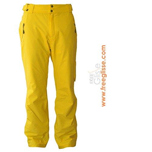 Skihose WATTS Steff gelb - L