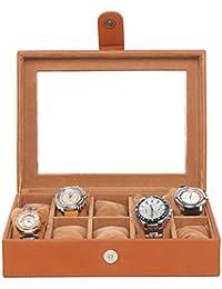 Leather World 5.5 Liter 10 Watch Box | Watch Case | Watch Organizer | Watch Case For Men