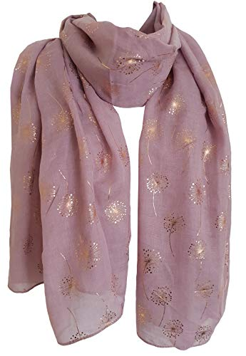 Apparel Accessories Trend Mark F&u Fashion Women Flowers Scarf Long Soft Flowers Colorful Wrap Ladies Chiffon Scarves Luxury Shawl Warm Fashion In 4 Seasons