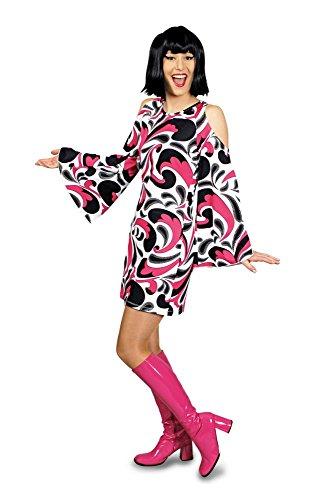 Damen Kostüm 60er Jahre Avantgarde Disco Karneval Fasching Gr.44/46