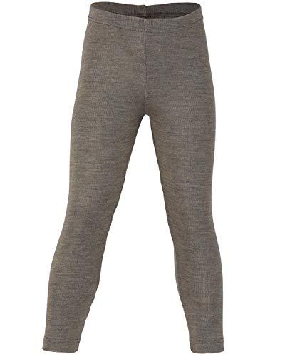 Engel, Legging, lange Unterhose, Wolle Seide, Grösse 92 - 176, 5 Farben (116, Walnuss)