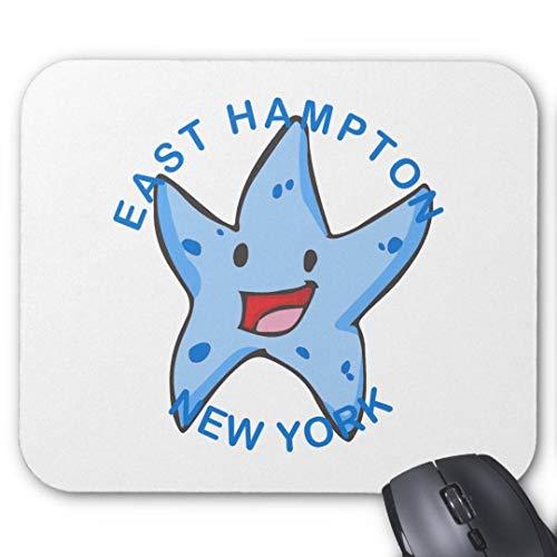 Mauspad, rutschfest, rechteckig, für Computer/Laptop, 20 x 24 cm, New York East Hampton -