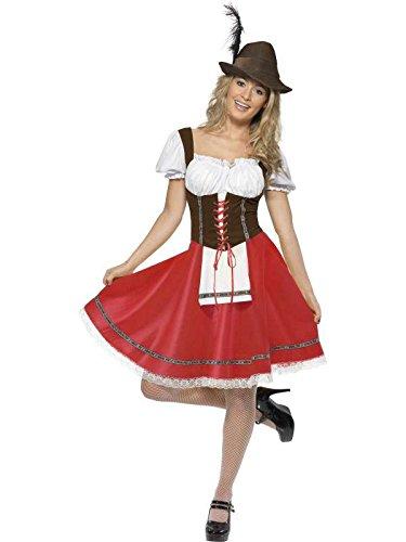 Für Fußball- Bayerischen Kleid Gr. (Bavarois Kostüme)