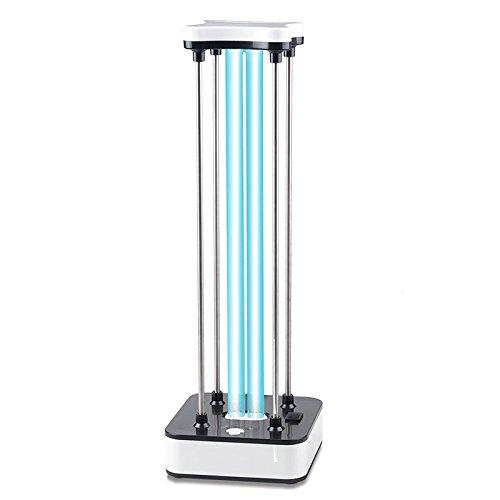 BRIGHTINWD gesundes Leben-UV-Ozon-keimtötendes Licht 220V 36W Luft-Sterilisator-Reiniger-Form, Bakterien, Mikroben und Viren - mit 15s Verzögerung Timing-Fernbedienung, für Geschäft, Hauptgebrauch