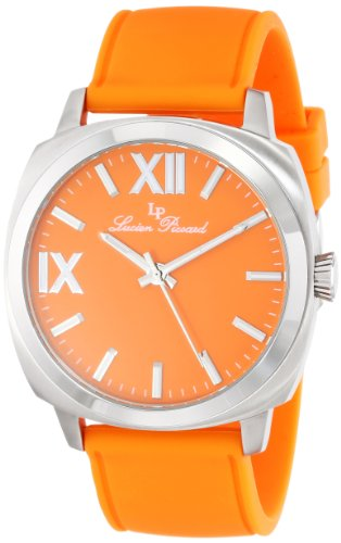 Lucien Piccard Women's LP-20032-06-OR St. Tropez Analog Display Japanese Quartz Orange Watch
