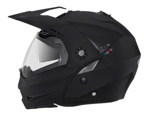 Casco Moto Caberg Casco Modulare Tourmax Integral Casco, Nero Opaco (M)
