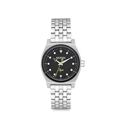 Nixon Time Teller Montre Femme Analogique Quartz avec Bracelet Acier Inoxydable A11302971