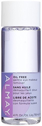 Almay Oil Free Gentle Eye Makeup Remover, 4 fl oz (Pack of 3) by Unknown