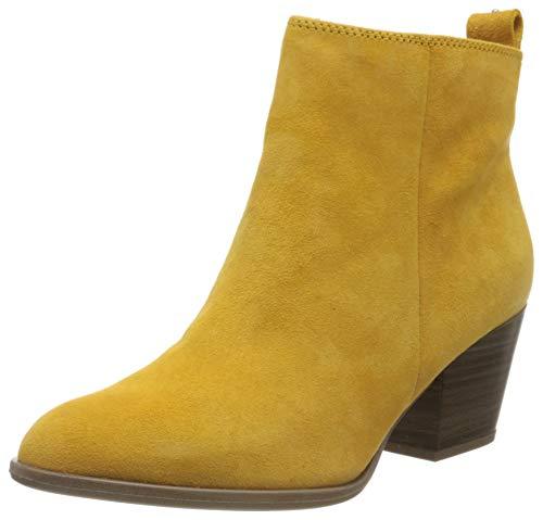 Tamaris 1-1-25302-34, Botines para Mujer, Amarillo Saffron Suede 660, 41 EU