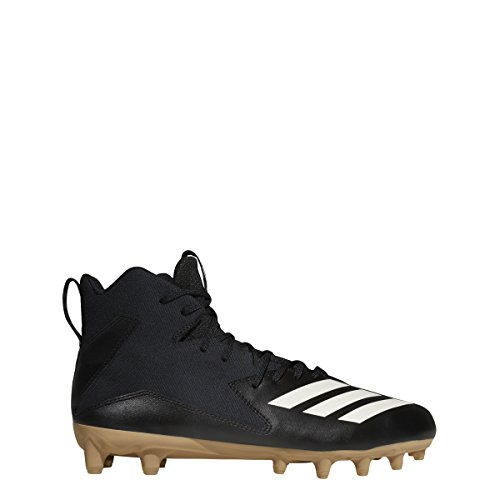 super popular 0c659 0c81c adidas Men s Freak X Carbon Sundays Best Mid Football Cleats (10,  Black White