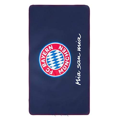 FCB Bayern München Sport Handtuch (one Size, blau) (Sport-handtuch)