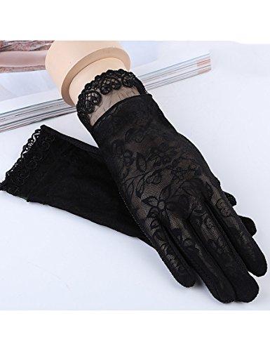 Gants de protection solaire d'été Gants minces minces L'ancre anti-rayures anti-ultraviolet renvoie à des gants de dentelle ( Couleur : 6 ) 1