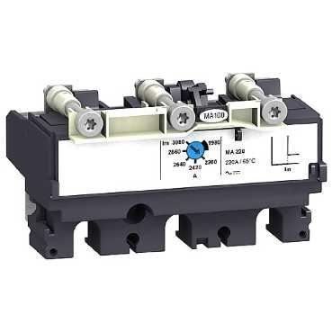 SCHNEIDER ELEC PBT - PAC 55 01 - UNIDAD CONTROL MA6 3 3 POLOS 3R NSX100-250