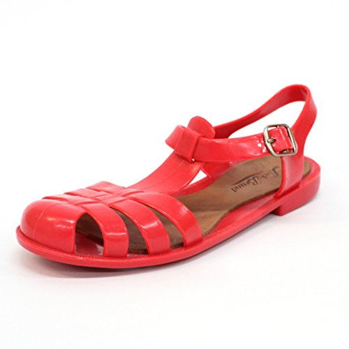Lucky marchio sandali con fibbia, taglia 3, da 69 (Cayenne)