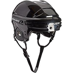 BAUER – Erwachsenen Eishockey Helm 2100 Senior I verstellbar I Schutzhelm für Eishockeyspieler I integrierte Ohrenschützer I zertifiziert I robust & stabil I Eishockeyzubehör für Erwachsene