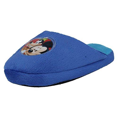 Jovens Chinelos Rato Disney Mickey Wd8124 Azul