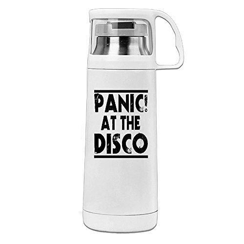 """Beauty, Trinkflasche mit Logo """"Panic at the disco"""" mit Griff, Vakuum-isoliert, für heiße und..."""