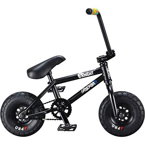 Rocker 3+ The Knight Mini BMX Bike (Schwarz)