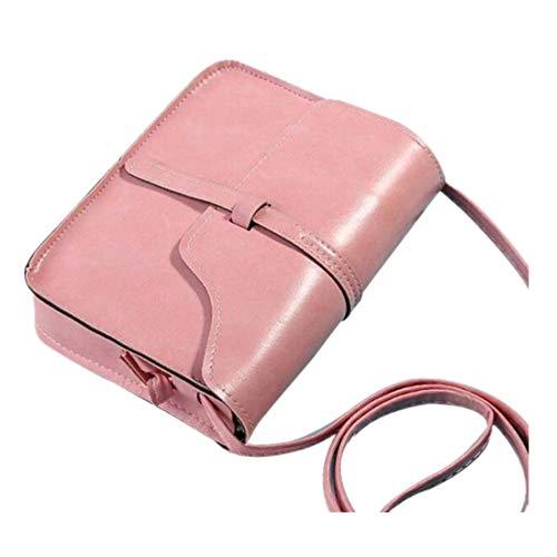 Damen Umhängetaschen FORH College Shoulder Satchel Travel Bag PU-Leather Messenger Bag Mini...