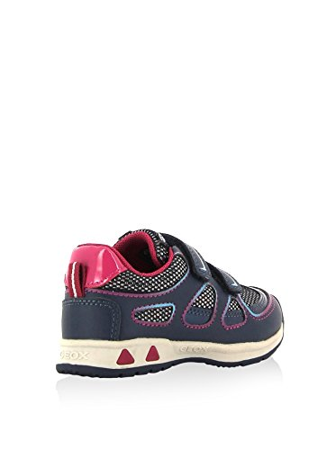 Geox J Baltic B Girl Abx, Baskets mode fille Navy