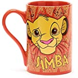 Disney Simba Mug The Lion King 'Born Wild 'and 'Simba' Wording