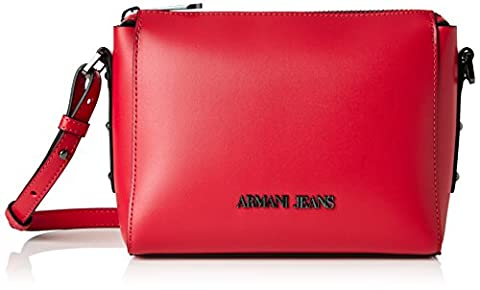 Armani Jeans 9221767p757, Women's Backpack Bags, Red (GERANIO 08873), (9x16x21 cm (B x H x T) EU)