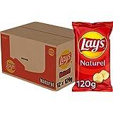 Lay's Chips Naturel, Doos 12 stuks x 120 g