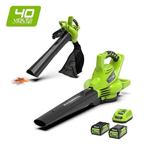 Greenworks Tools - 40 V Laubsauger - 24227