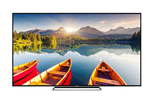 Toshiba 75U6863DB 75-Inch Smart 4K Ultra-HD HDR LED TV with Freeview Play - Black/Silver (2018 Model)