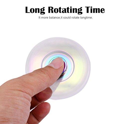 ILOVEDIY Hand Fidget Spinner Toys Teniendo alta velocidad Aliviar el estrés, Ansiedad, TDAH Adultos y Niños Juguetes - 5