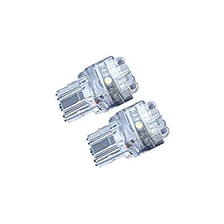 AP Automotive 2x T20 LED Bulbs White 12v (15x LED 1210 7440) 3157 - W21W - W3x16q - T20